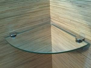 narożna lustro 5 mm i uchwyty