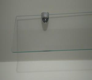 Szkło czyste - małe rogi-uchwyt taniocha