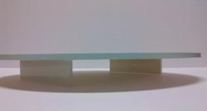 Patera szklana - spód