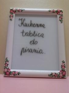 Kuchenna tablica na zapiski