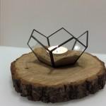 Świecznik geometryczny